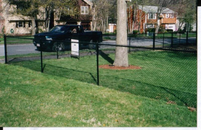 Black Vinyl-Coated Chain Link, Mini-Mesh2