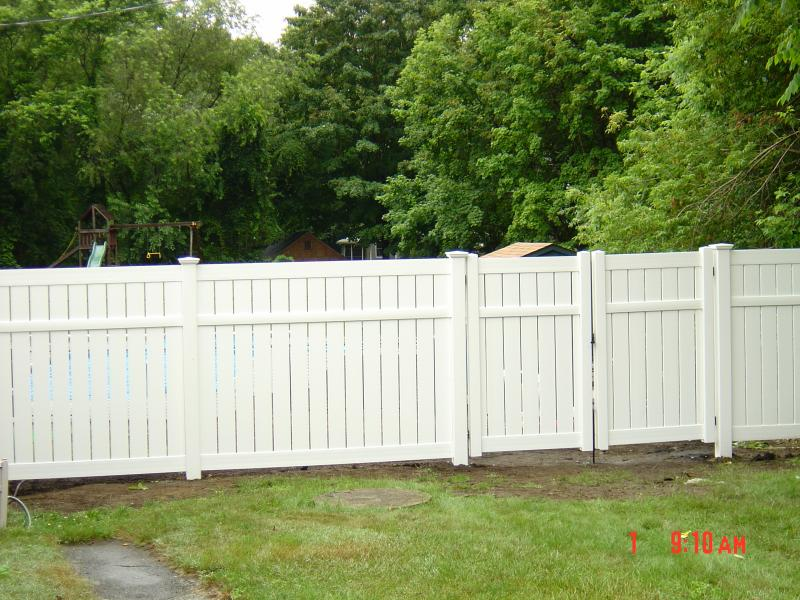 6' Vinyl Semi Private, Gate